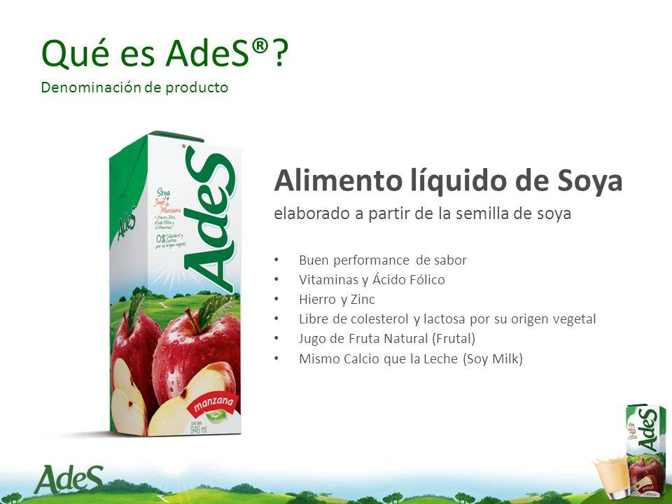 Qué es AdeS® Denominación de producto