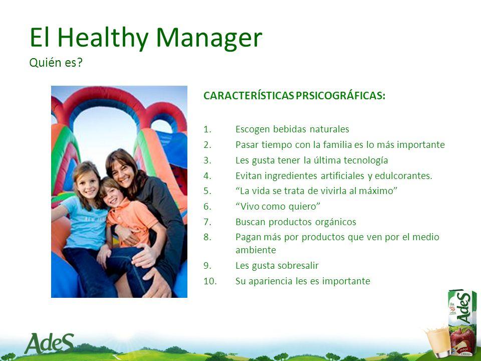 El Healthy Manager Quién es