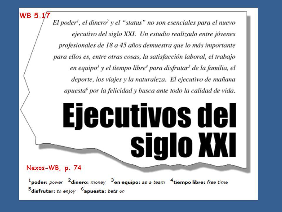 WB 5.17 Nexos-WB, p. 74