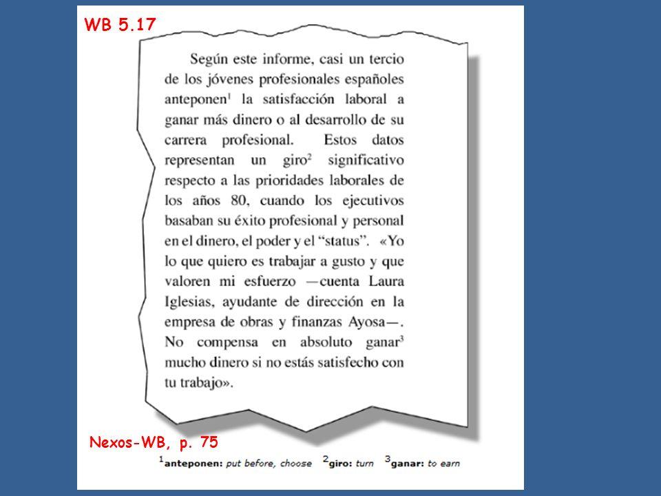 WB 5.17 Nexos-WB, p. 75