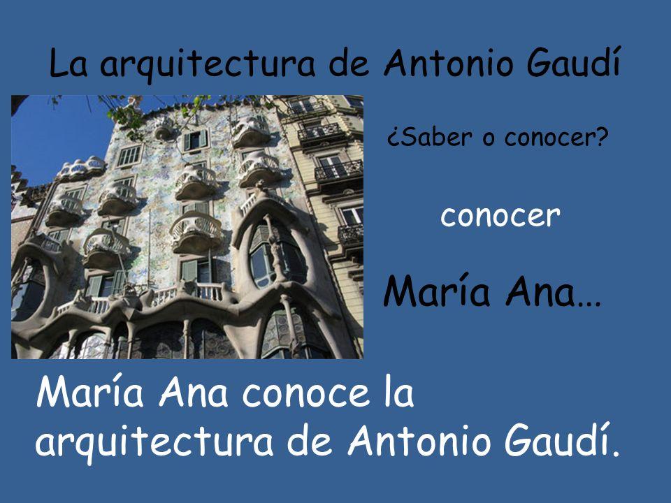 La arquitectura de Antonio Gaudí