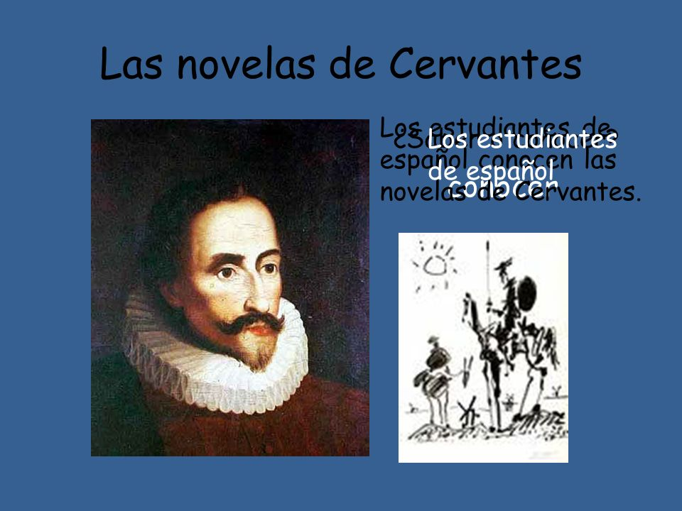 Las novelas de Cervantes