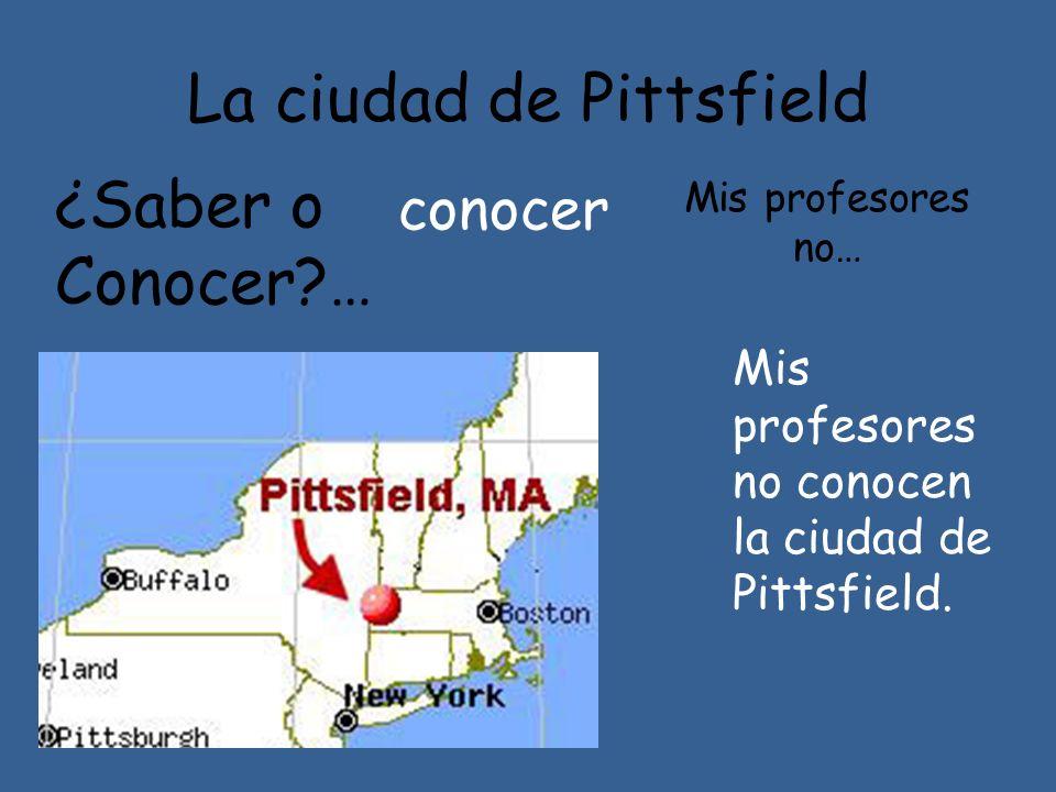 La ciudad de Pittsfield