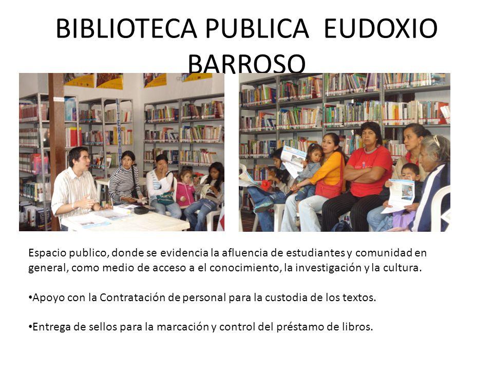 BIBLIOTECA PUBLICA EUDOXIO BARROSO