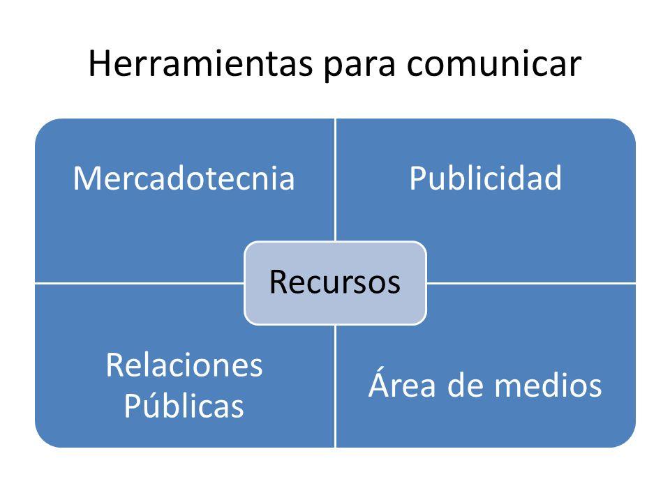 Herramientas para comunicar