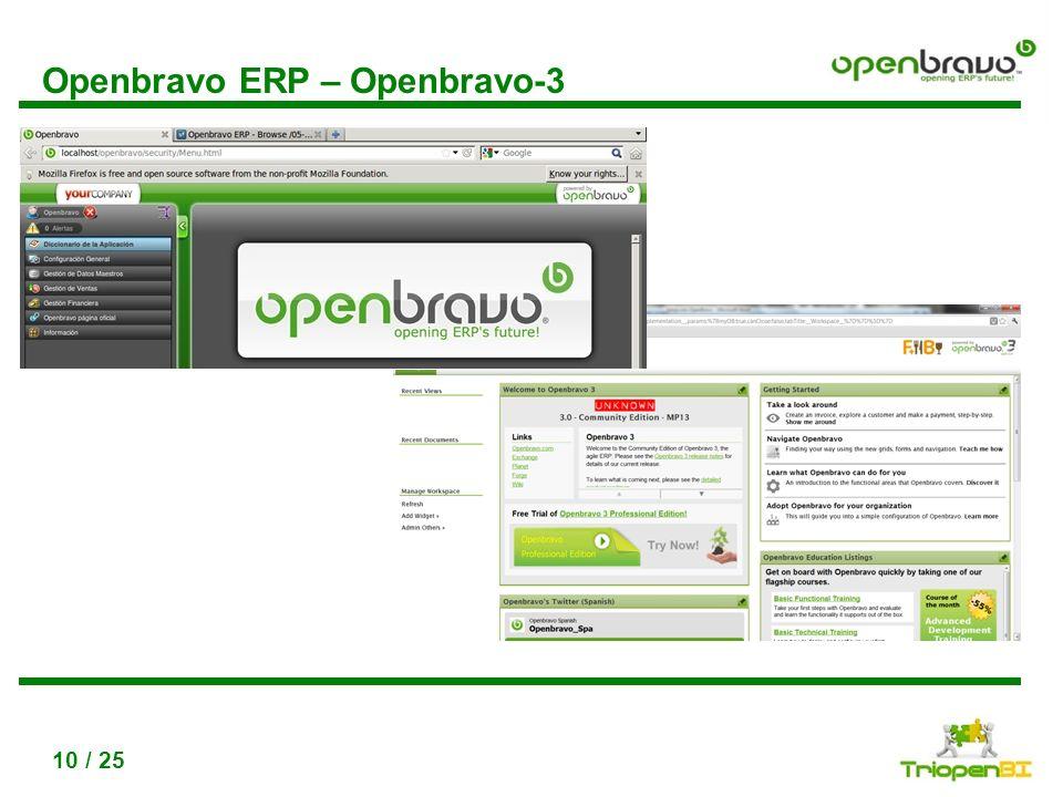 Openbravo ERP – Openbravo-3