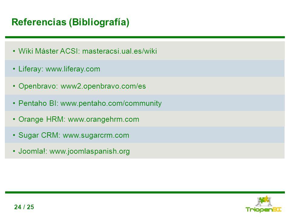 Referencias (Bibliografía)