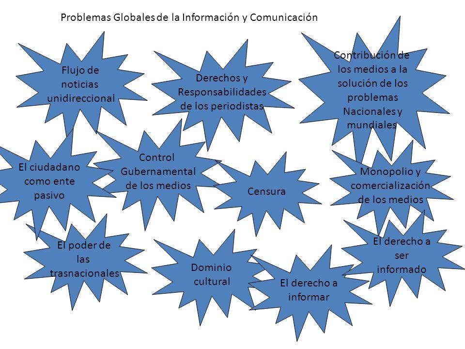 Problemas Globales de la Información y Comunicación