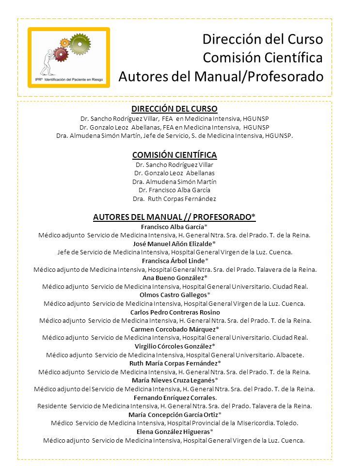 AUTORES DEL MANUAL // PROFESORADO*