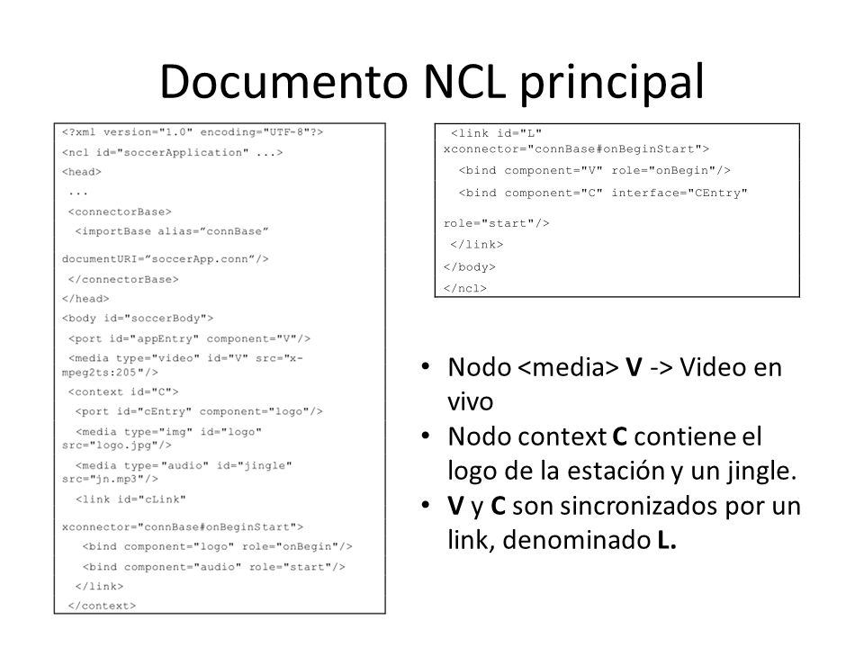 Documento NCL principal