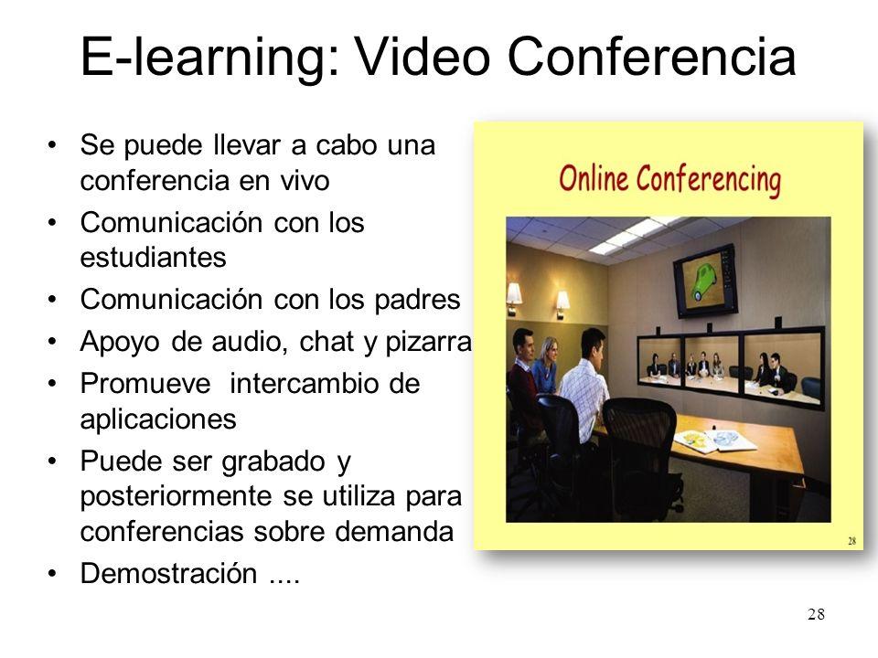 E-learning: Video Conferencia