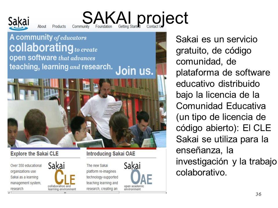 SAKAI project