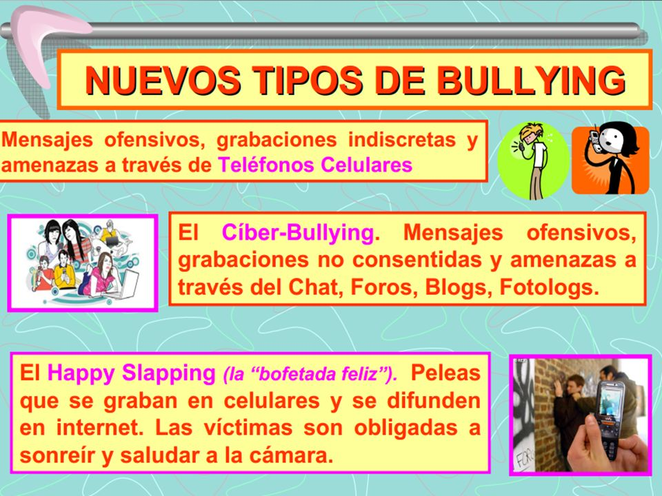 Implicados en el Bullying