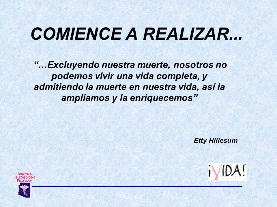 COMIENCE A REALIZAR...