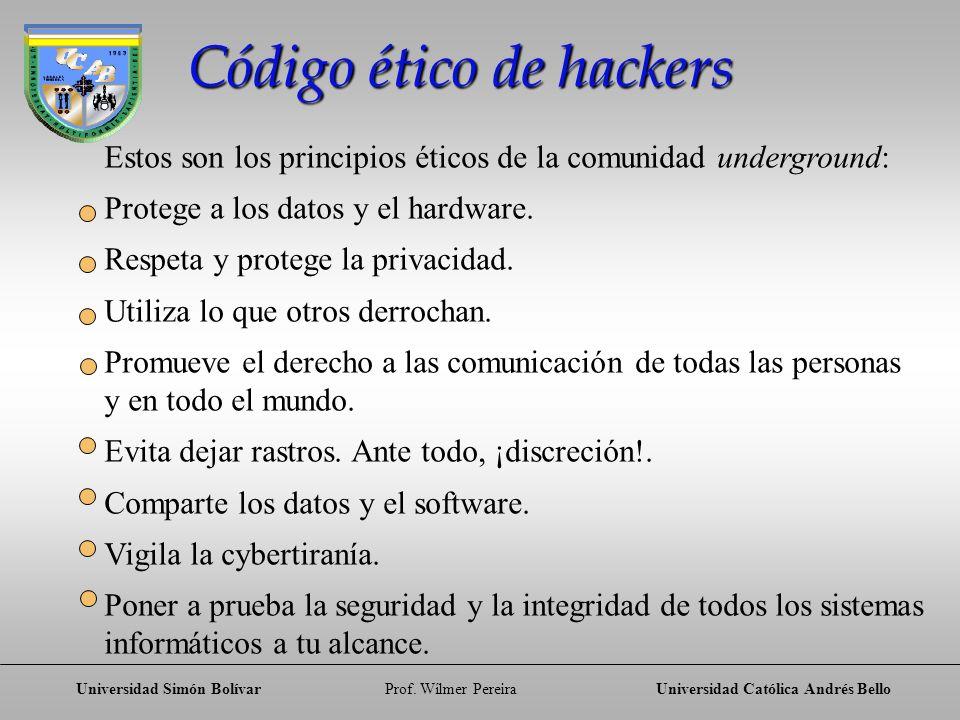 Código ético de hackers