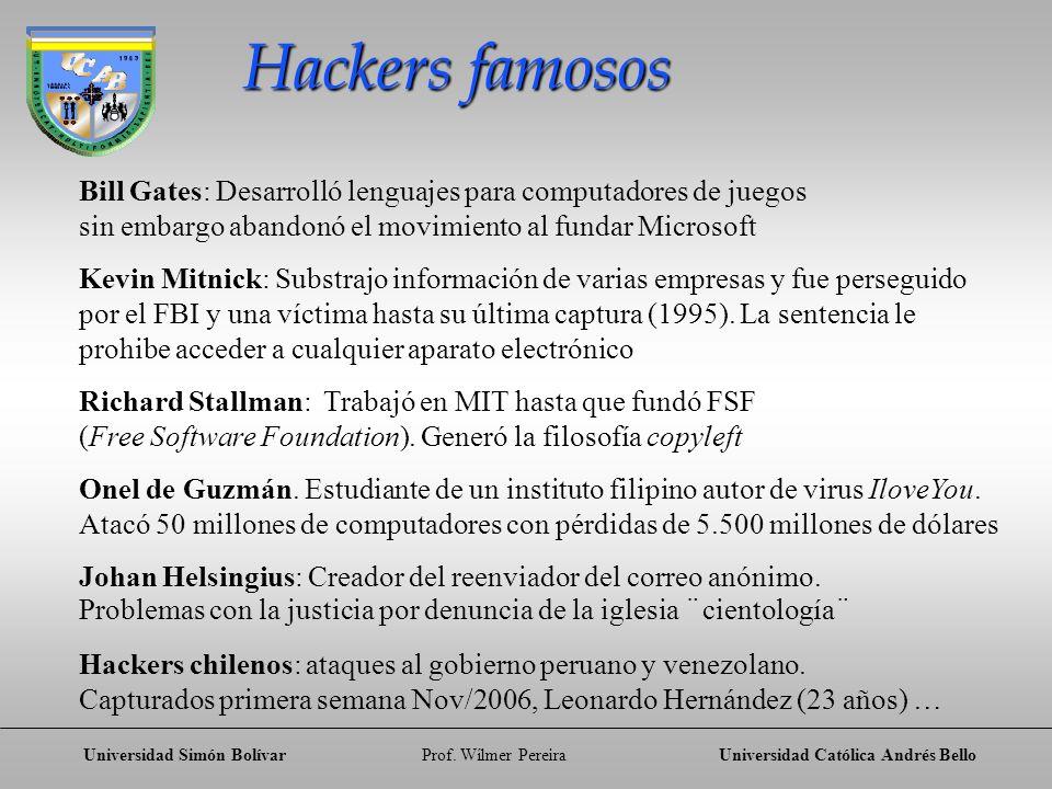Hackers famosos Bill Gates: Desarrolló lenguajes para computadores de juegos. sin embargo abandonó el movimiento al fundar Microsoft.