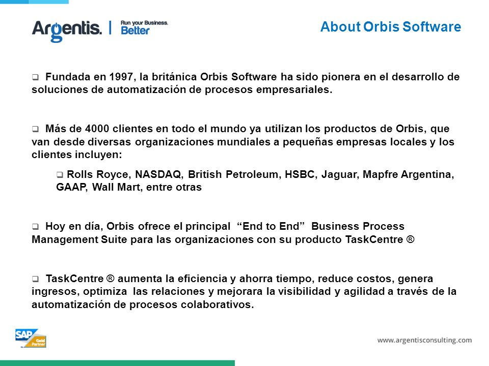 About Orbis Software