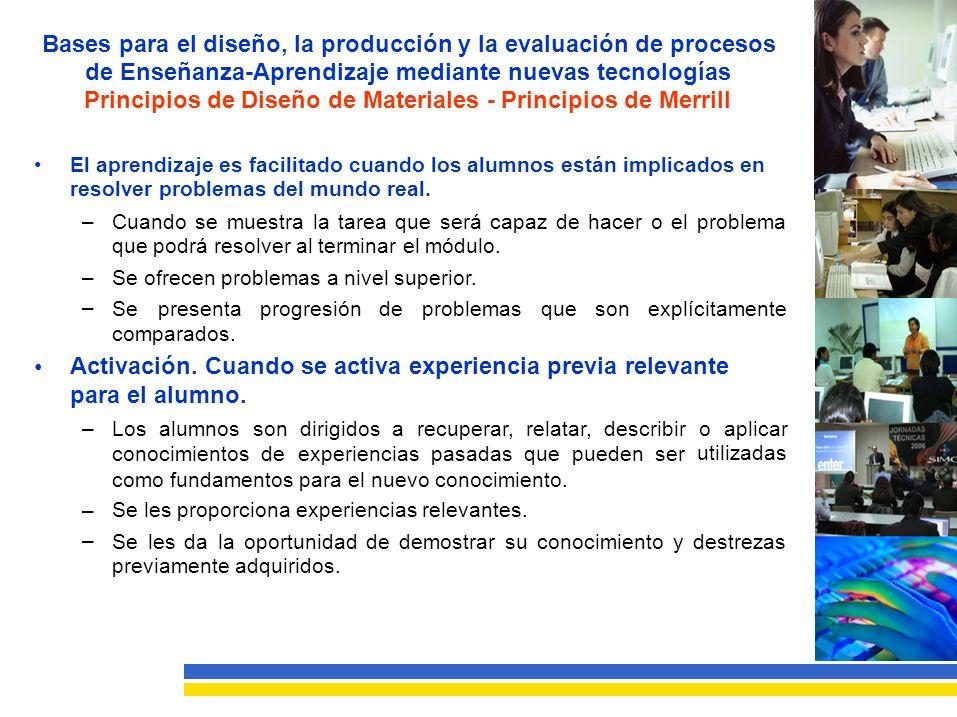 Principios de Diseño de Materiales - Principios de Merrill