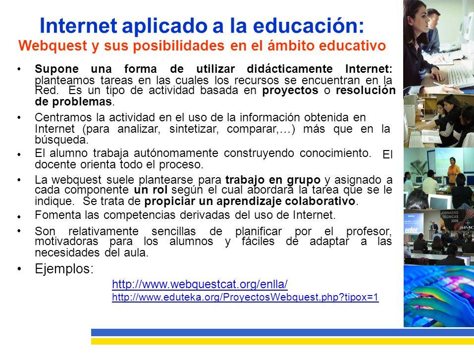 Webquest y sus posibilidades en el ámbito educativo