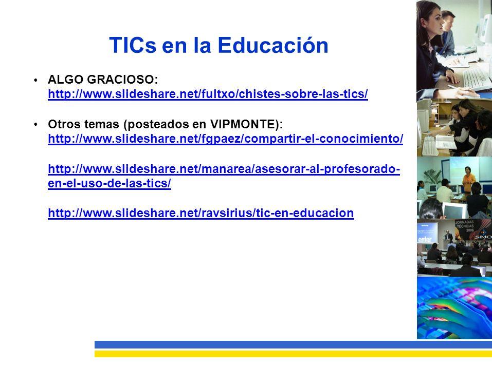TICs en la Educación ALGO GRACIOSO: