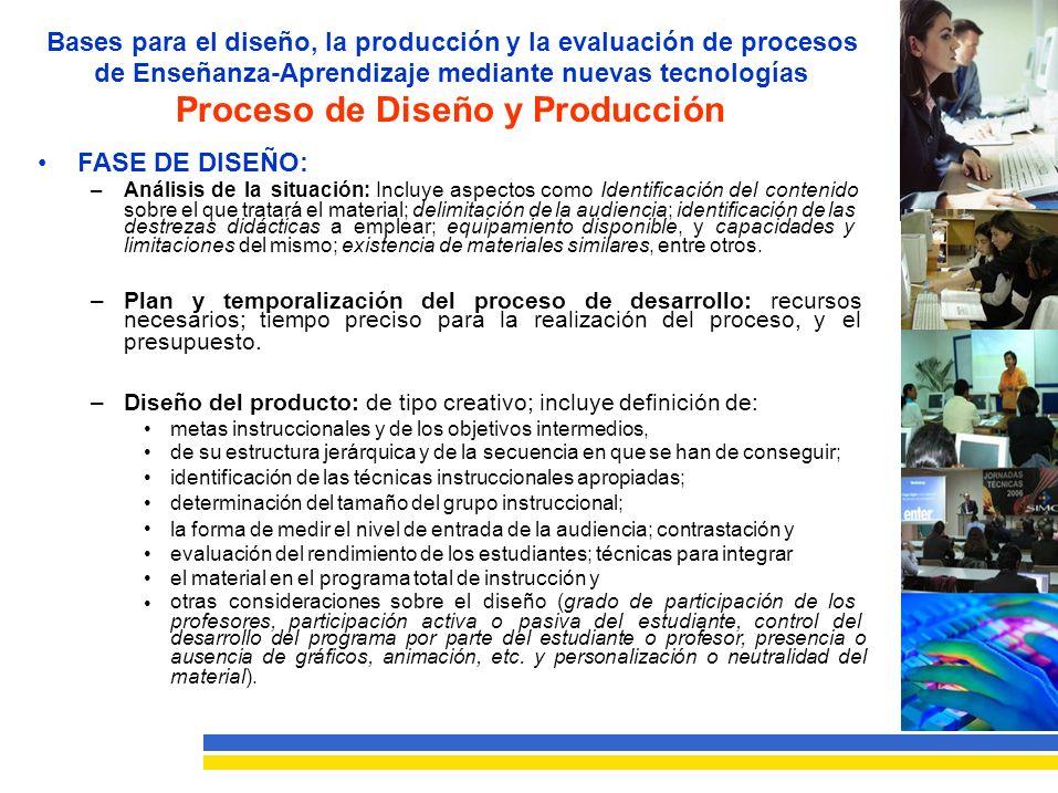 Proceso de Diseño y Producción