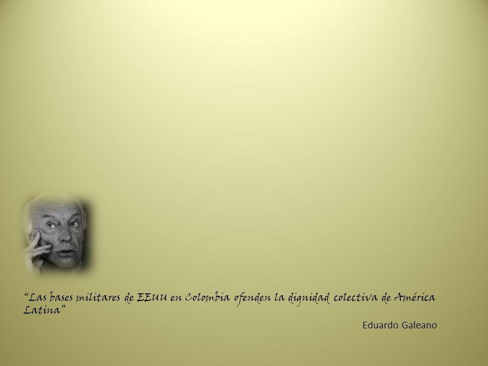 Las bases militares de EEUU en Colombia ofenden la dignidad colectiva de América Latina