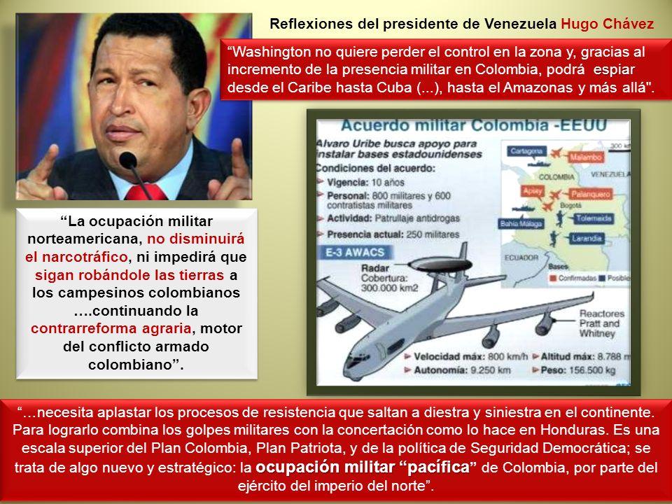 Reflexiones del presidente de Venezuela Hugo Chávez