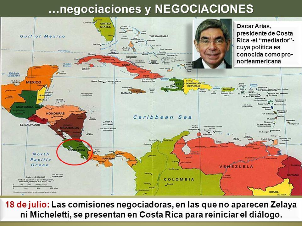 …negociaciones y NEGOCIACIONES