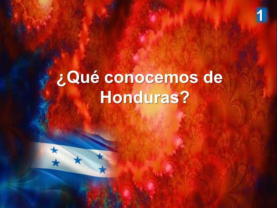 ¿Qué conocemos de Honduras