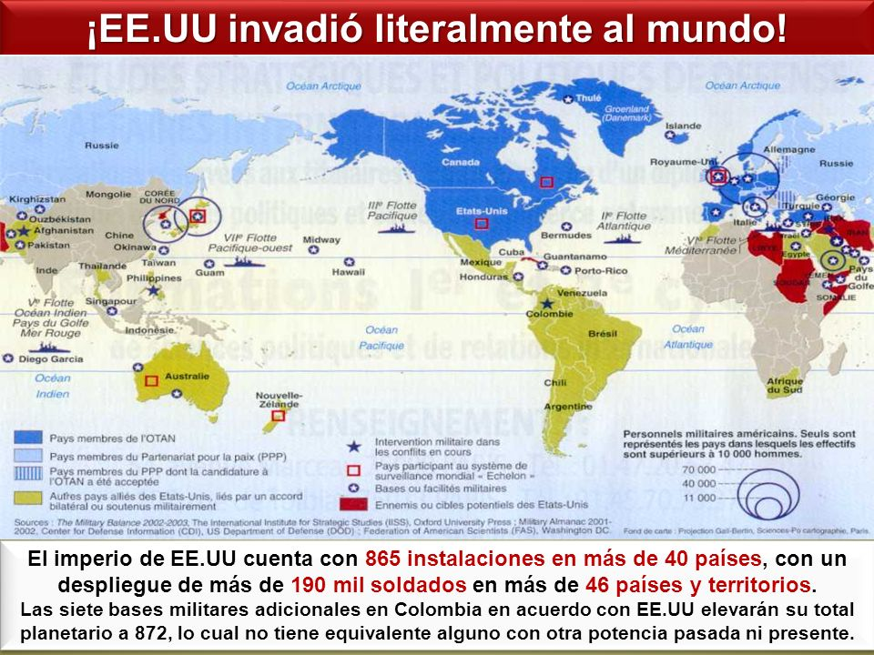¡EE.UU invadió literalmente al mundo!