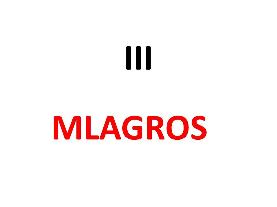 III MLAGROS