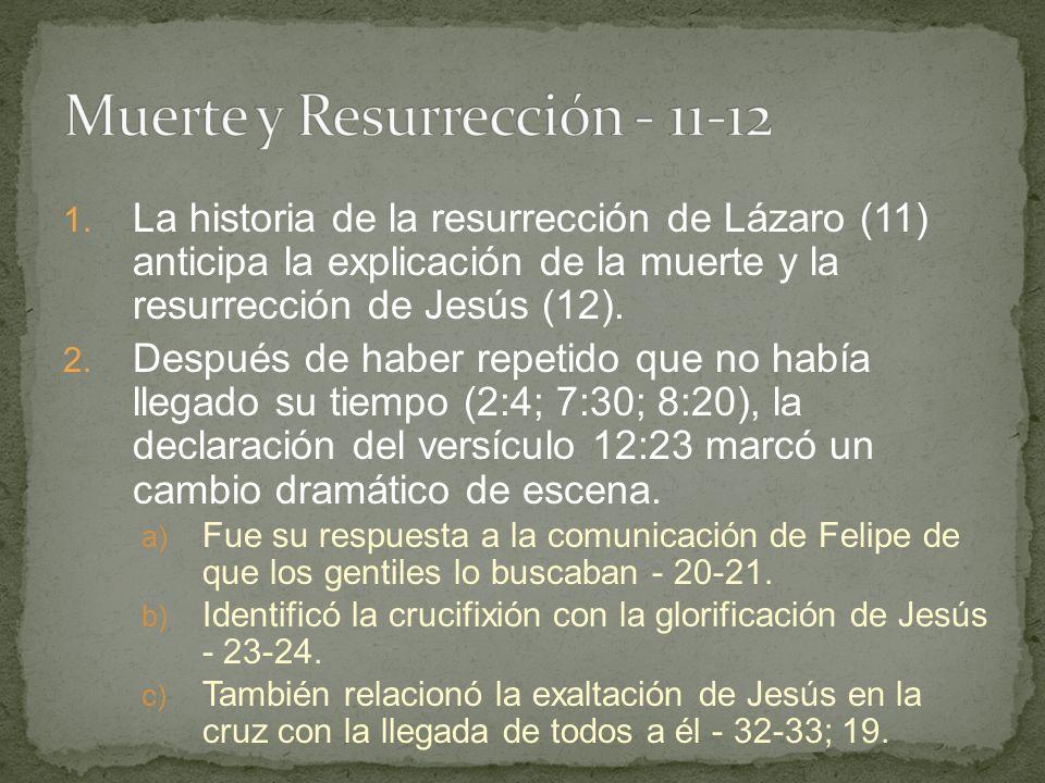 Muerte y Resurrección - 11-12