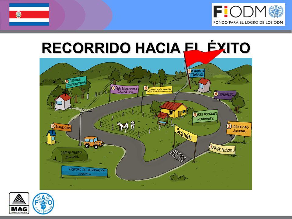 RECORRIDO HACIA EL ÉXITO