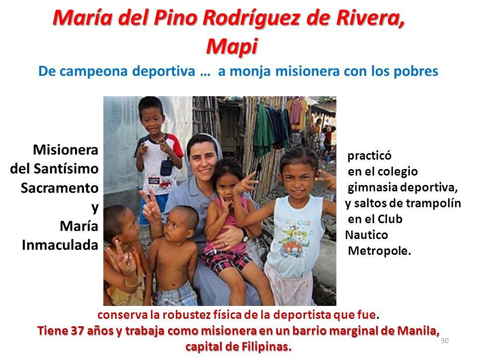 María del Pino Rodríguez de Rivera, Mapi