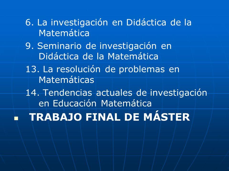 TRABAJO FINAL DE MÁSTER