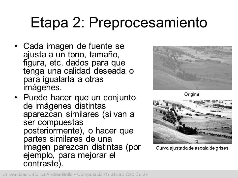 Etapa 2: Preprocesamiento