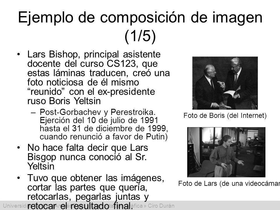 Ejemplo de composición de imagen (1/5)