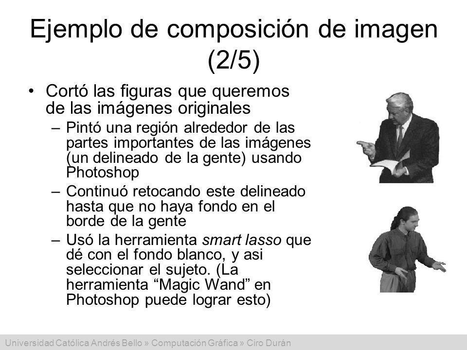 Ejemplo de composición de imagen (2/5)