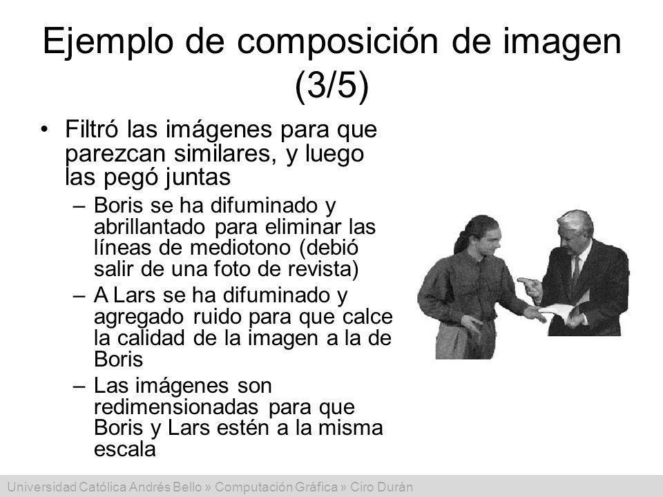 Ejemplo de composición de imagen (3/5)