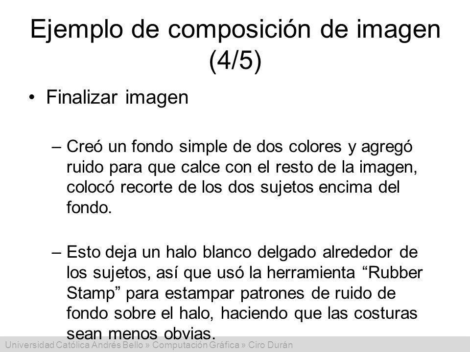 Ejemplo de composición de imagen (4/5)