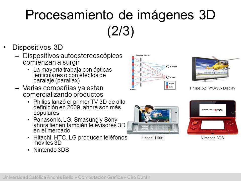 Procesamiento de imágenes 3D (2/3)