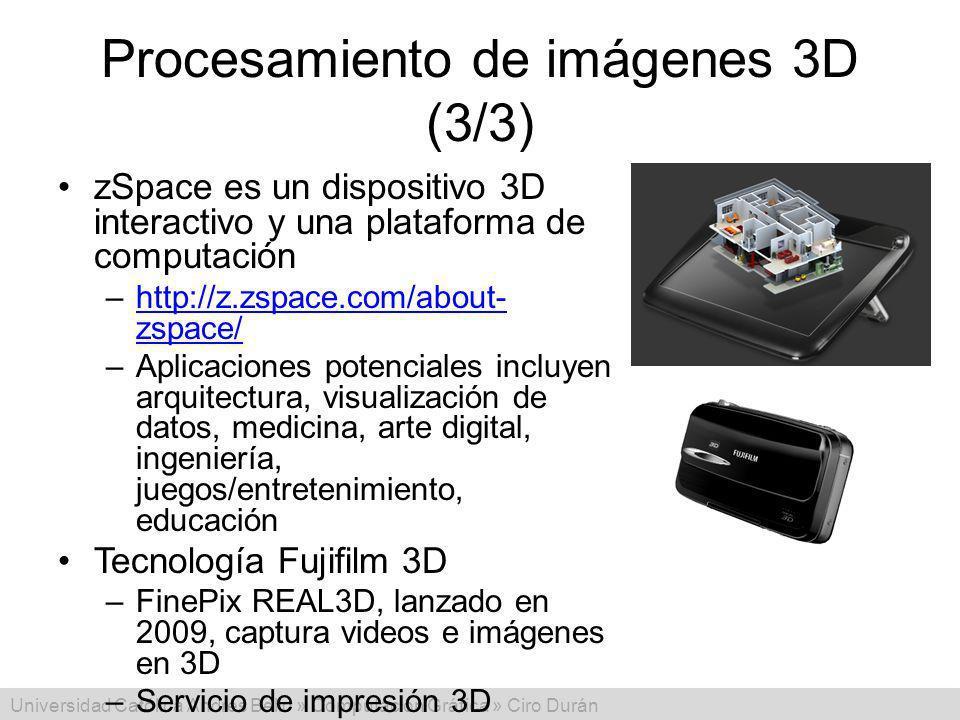 Procesamiento de imágenes 3D (3/3)