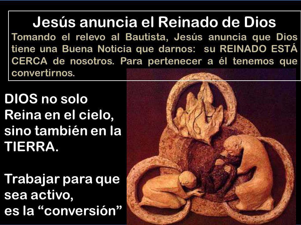 Jesús anuncia el Reinado de Dios