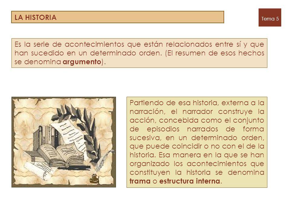 LA HISTORIA Tema 5.