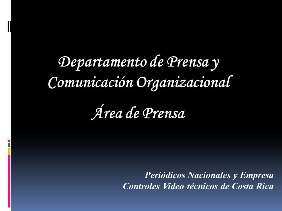 Departamento de Prensa y Comunicación Organizacional