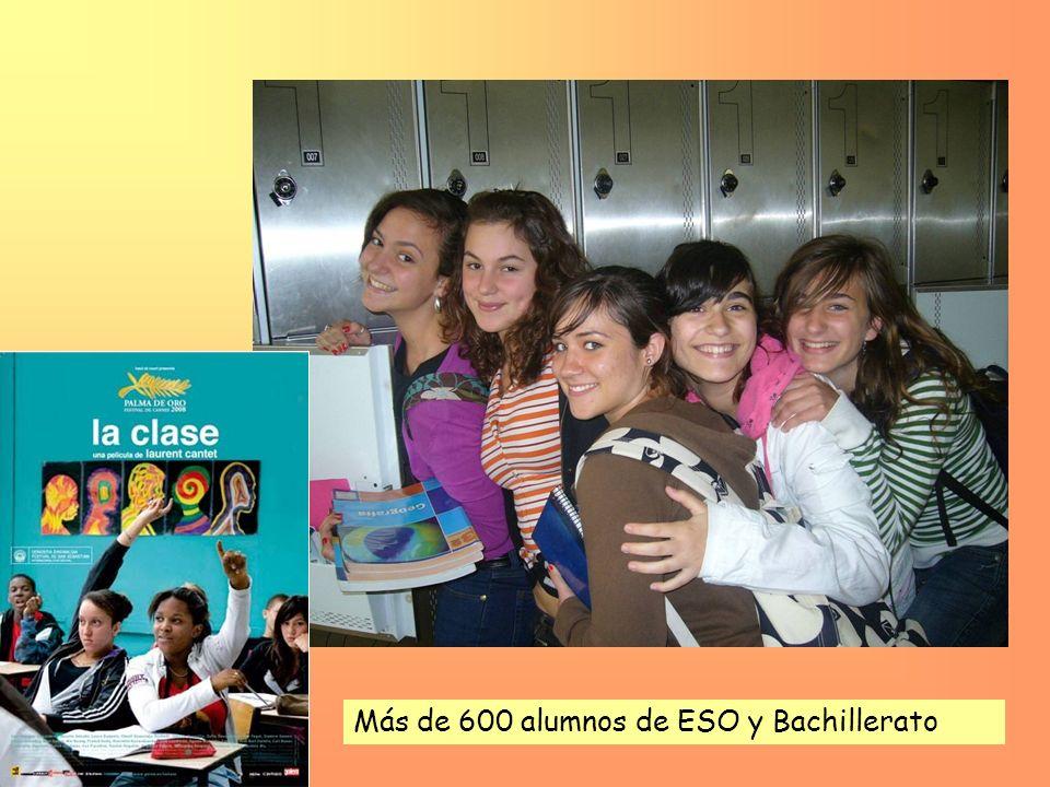 Más de 600 alumnos de ESO y Bachillerato
