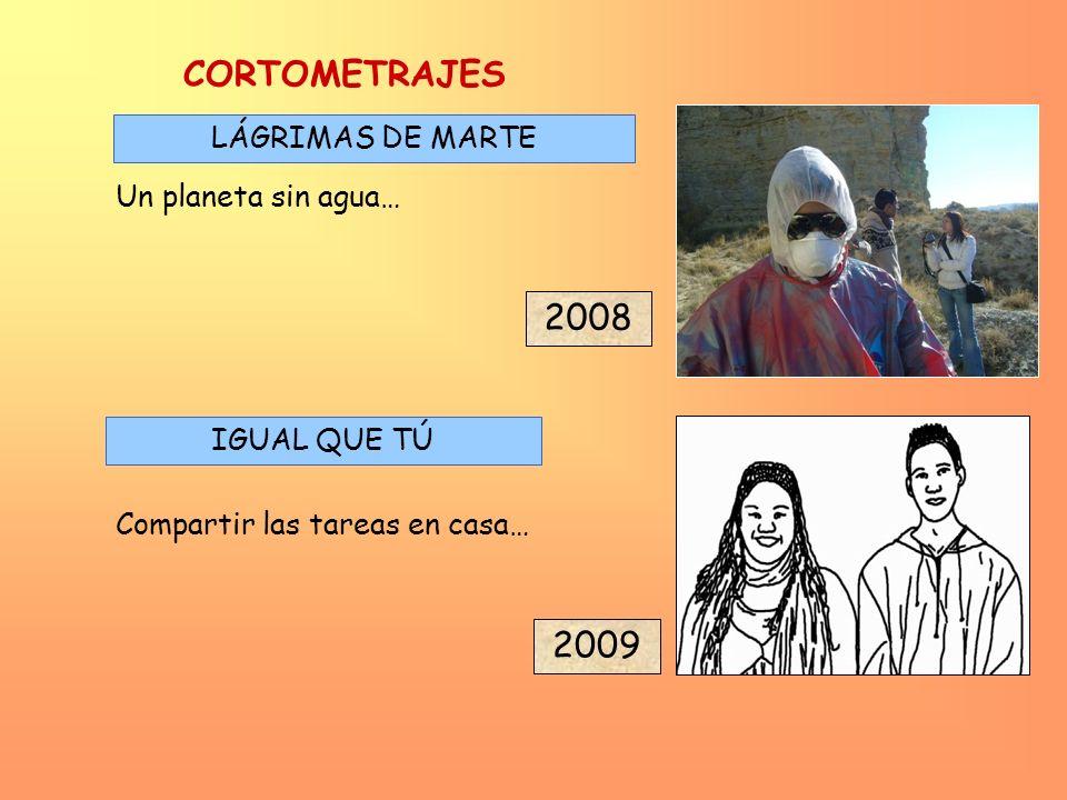 CORTOMETRAJES 2008 2009 LÁGRIMAS DE MARTE Un planeta sin agua…