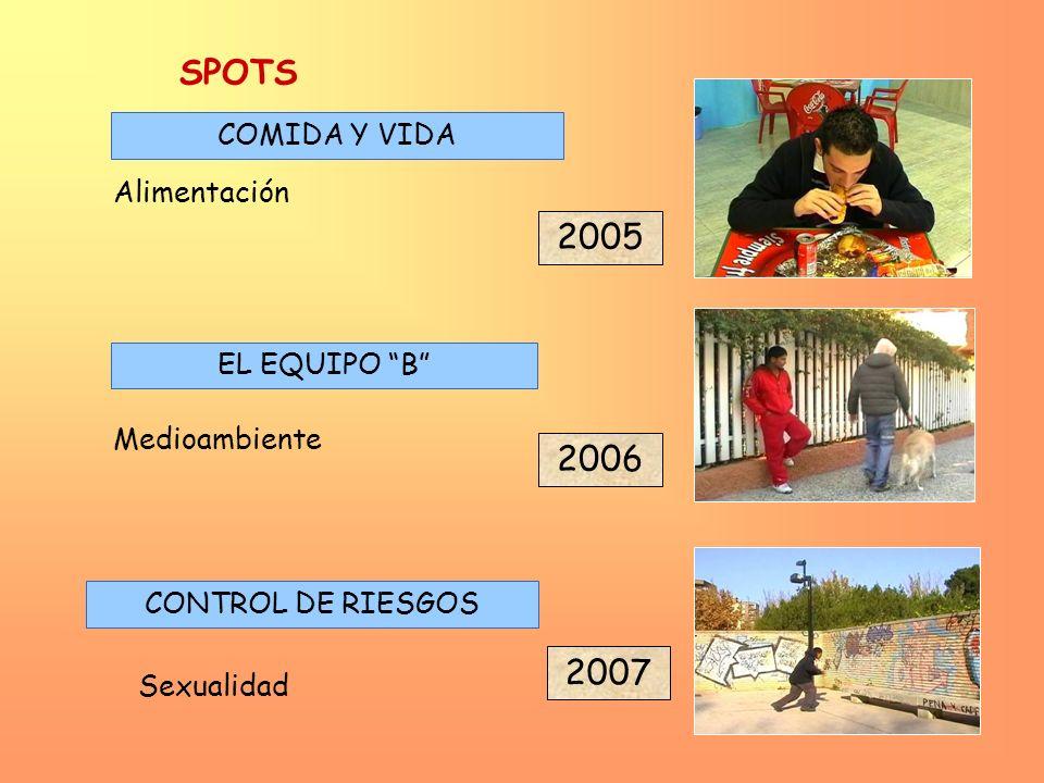 SPOTS 2005 2006 2007 COMIDA Y VIDA Alimentación EL EQUIPO B