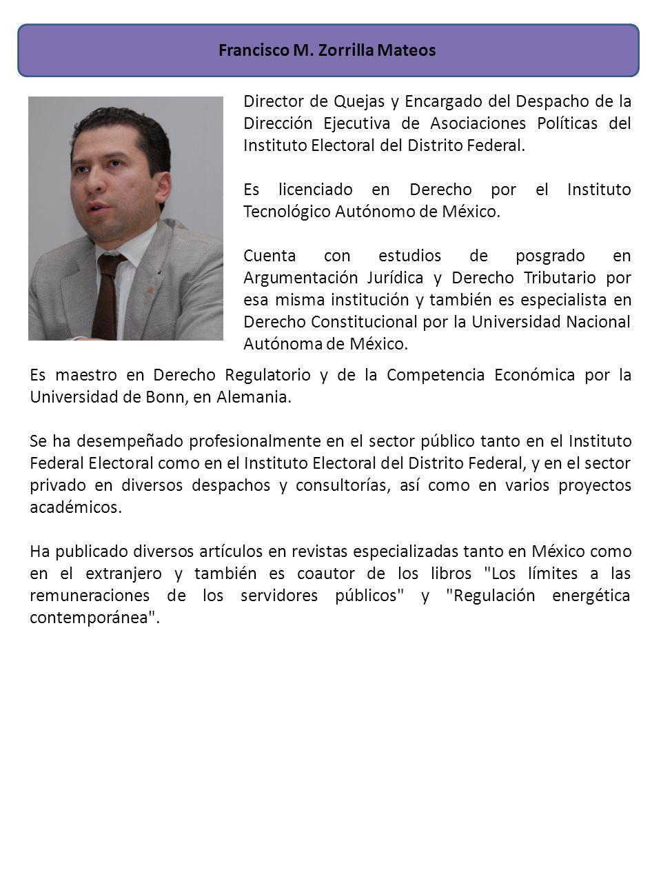 Francisco M. Zorrilla Mateos