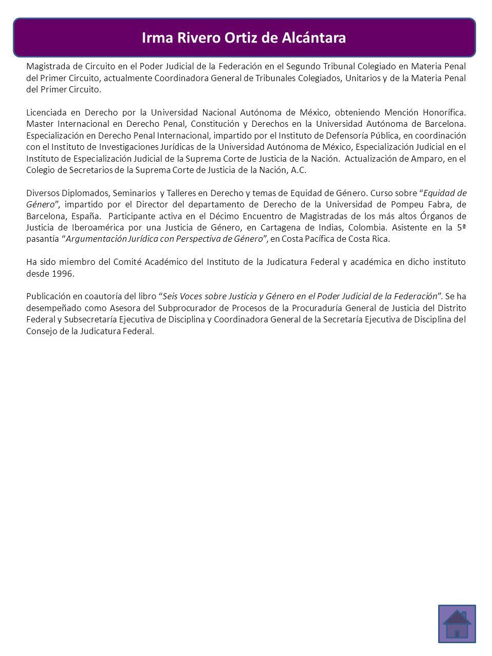 Irma Rivero Ortiz de Alcántara